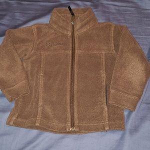 Brown Columbia fleece